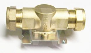 28mm 2 port zone valve body HPV28. Danfoss. Motorized Valve.